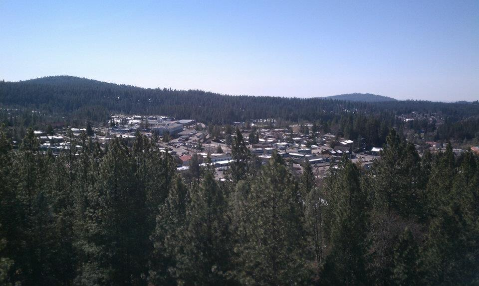 Overlooking Grass Valley