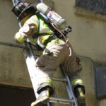 Firefighters Burn House in Training Exercise