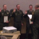 Sheriff Performs Promotion and Swearing in Ceremony