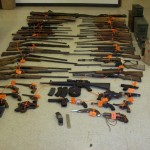Raid Nets Arsenal of Guns, Marijuana in North San Juan