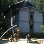 Housefire on Gold Digger Way off Red Dog