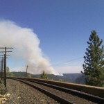 Robbers Fire at  317 acres