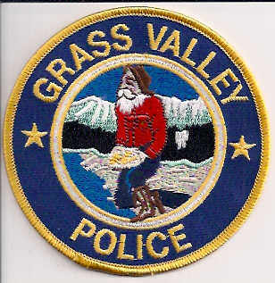 Grass Valley Police Patch