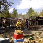 Woman Dies in House Fire on So. Ponderosa Way