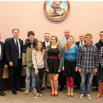 County Supervisors Recognize Rotary Interact Youth Service