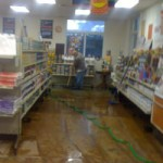Paint and Glass Shop Flooded in Grass Valley