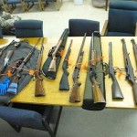 Pot Guns Found in Storage Unit