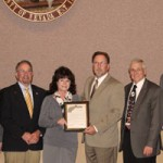 County Recognizes Retiring Chamber Leader