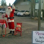 Santa Helping Shaylee