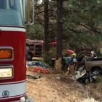 Accident Victim Airlifted to Roseville