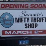 Sammie's Friends Nifty Thrift Shop Opens