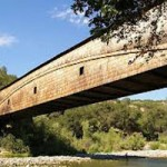 Stabilization Work Being Done on Covered Bridge