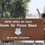 Four Detained at Beale AFB Drone Protest