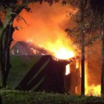 Fire Destroys Cascade Shores House
