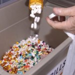 Police Take Back 150 Pounds of Pills