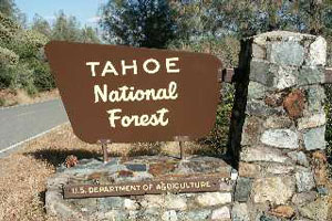 Tahoe-National-Forest-sign