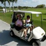 Woman Tossed from Golf Cart