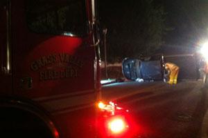 November   Grass Valley Car Accident