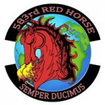 Beale Activates RED HORSE Squadron