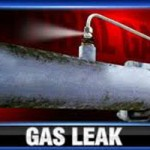Gas Line Break in Nevada City