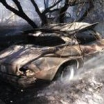 7 Cars Burn in NSJ Fire