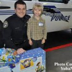 Caring and Sharing With Grass Valley Police Officers