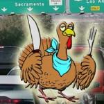 Thanksgiving Travel Down Slightly