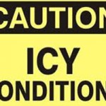 Icy Conditions Cause Accidents