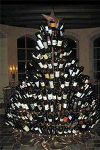 wine-xmas-tree