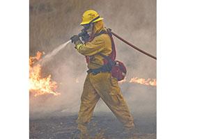 CalFire--2-Firefighter