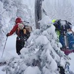 Four Hikers, Skier and Dog  Saved  In Snowstorm