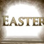 Church Transformed to Easter Scene
