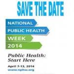 Next Week is National Public Health Week