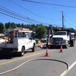 Gas Leak on East Main Street