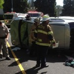 Rollover Accident in Grass Valley