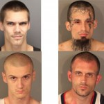 Four Arrested in Chop Shop Bust