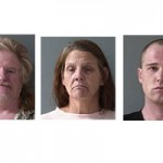 Trio Arrested Following Probation Check