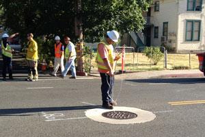 monitoring-manhole