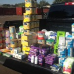 Suspects Caught with $6000 of Stolen Baby Goods and Liquor