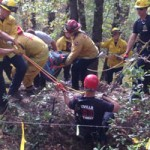 Man rescued from fall into Mine Hole