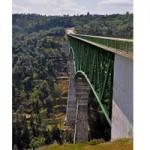 Girder Hanging on Foresthill Bridge