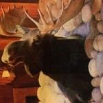 Stolen Moose Head Returned to Tahoe Resort