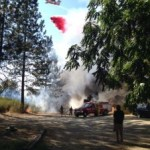 """McCourtney"" Fire Burning near Camp Far West"