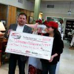 "Women of Worth Awarded ""Pay It Forward"" Check"