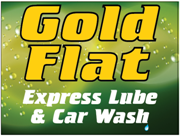 Gold Flat Express Lube