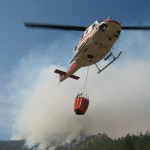 TNF Helicopter Onsite and Available for Wildfires
