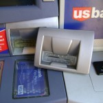 Electronic Skimming Device discovered on Bank ATM