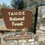 Rucker Fire in Tahoe National Forest