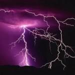 Lightning Strikes Tahoe National Forest