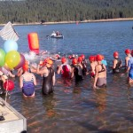 Crowds  Cheer for BSM Triathlon